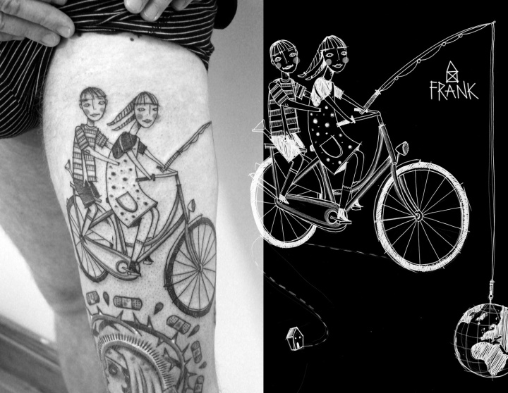MiriamFrank_Tattoo_rad_cycle