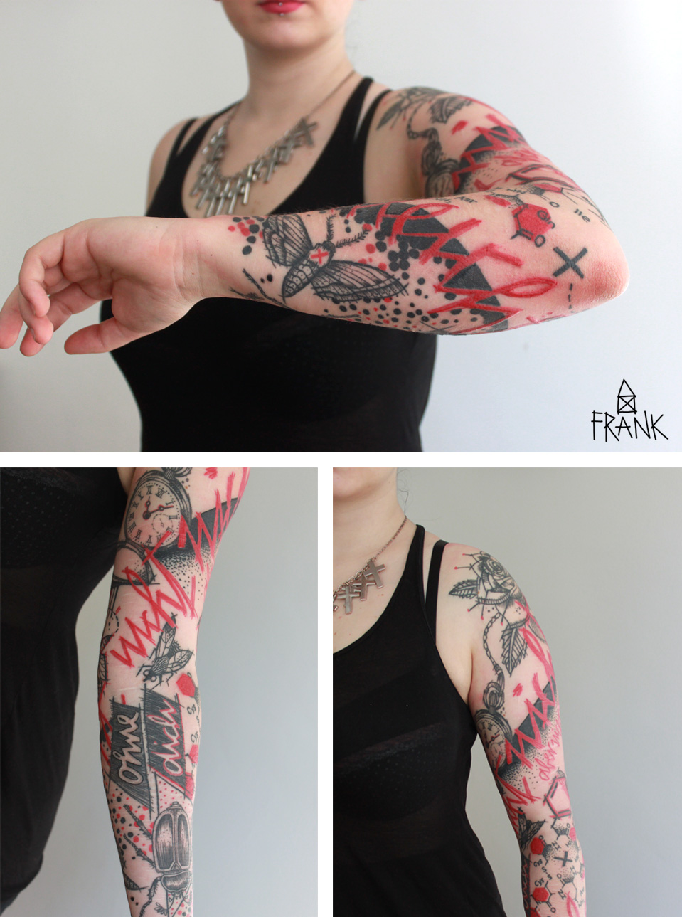 MiriamFrank_Tattoo_Abstrakt_Arm