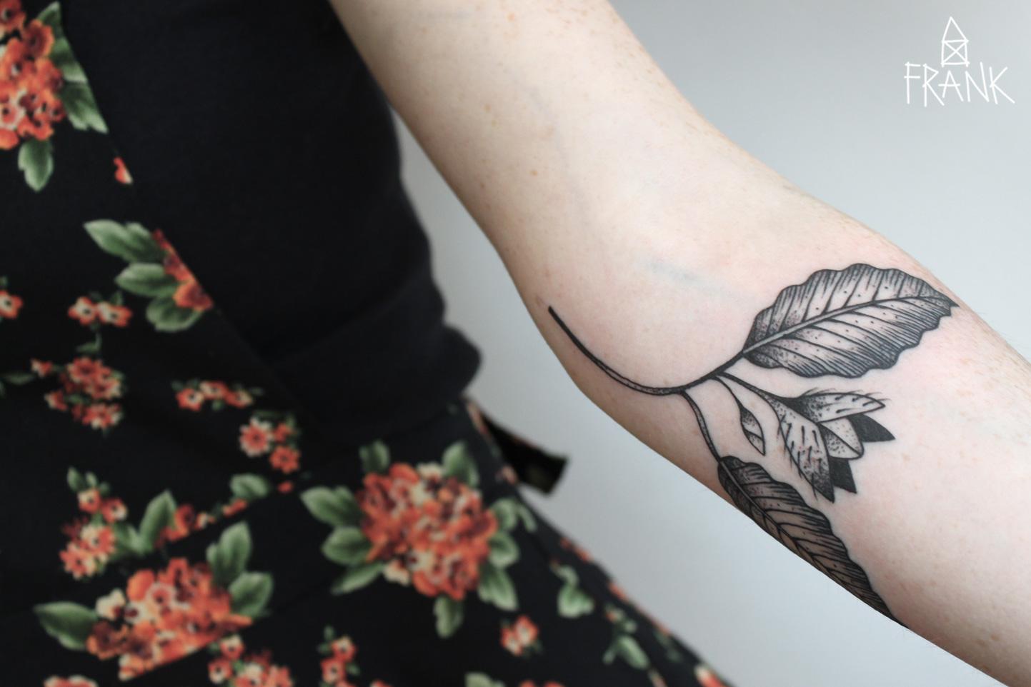 Tattoo Blatt