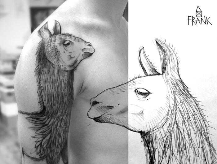 Miriam_Frank_tattoo_lama