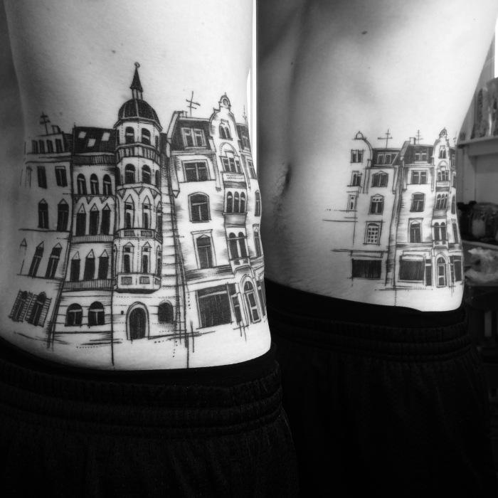 Miriam_frank_tattoo_house_city
