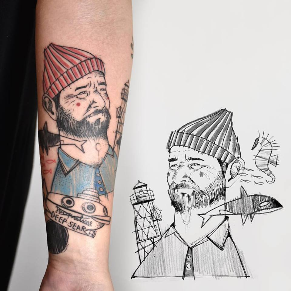 Miriam_frank_tattoo_wes_anderson_bill_burray