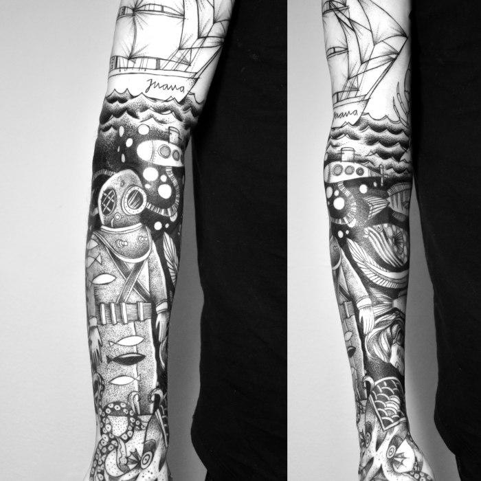 miriam_frank_tattoo_underwater