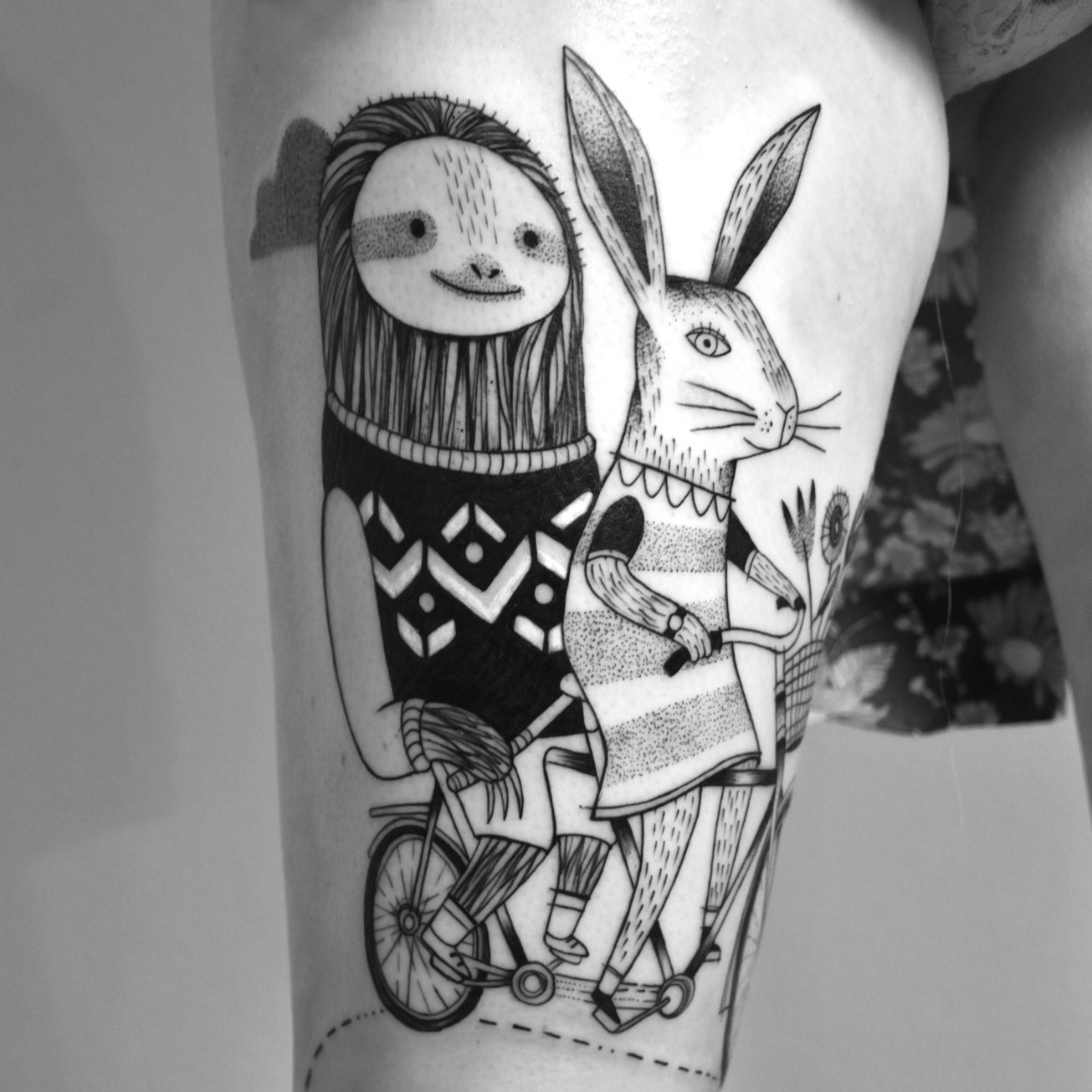 miriam_frank_tattoo_sloth